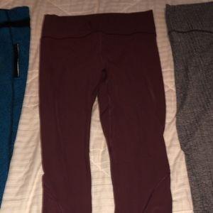 7/8 length Lululemon leggings